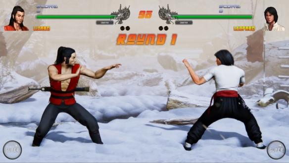 《少林vs武当2》游戏截图