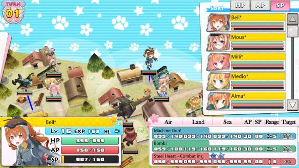 《萌萌2次大战略3豪华限定版》游戏截图