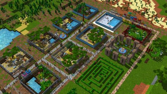 成为动物园长 模拟经营游戏《动物园建设者》专题上线