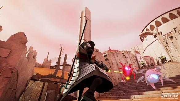 《武士杰克:穿越时空的战斗》游戏截图