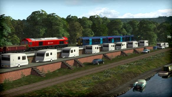 《英国铁路之旅》游戏截图