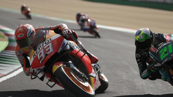 《世界摩托大奖赛20》游戏截图