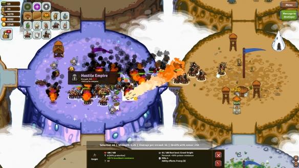 《圆圈帝国对决》游戏截图