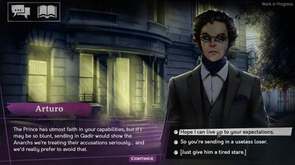 《吸血鬼:避世 纽约之影》游戏截图