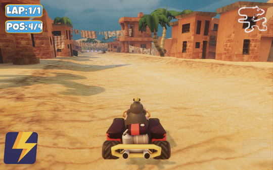 《怪鸡卡丁车》游戏截图
