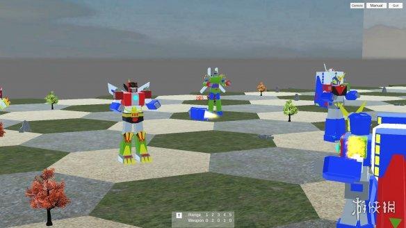 《机器人战术》游戏截图