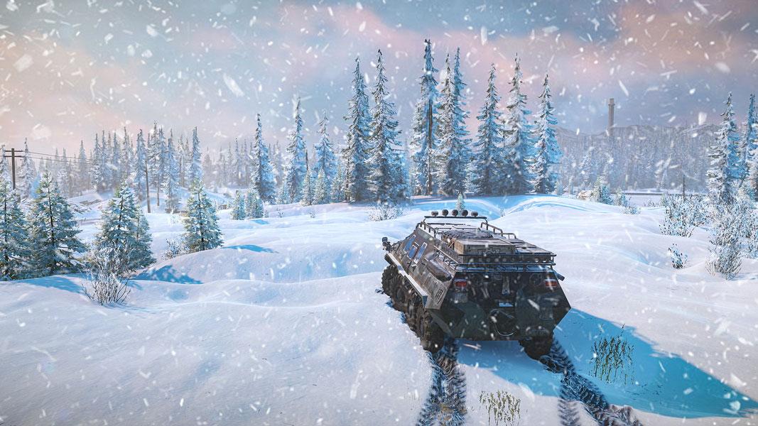 雪地奔驰游戏