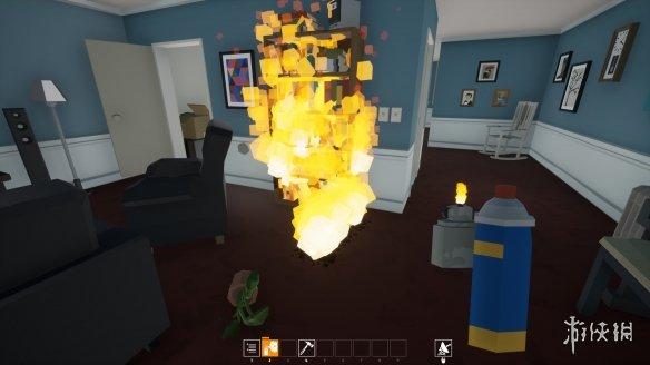 《火烧蜘蛛》游戏截图