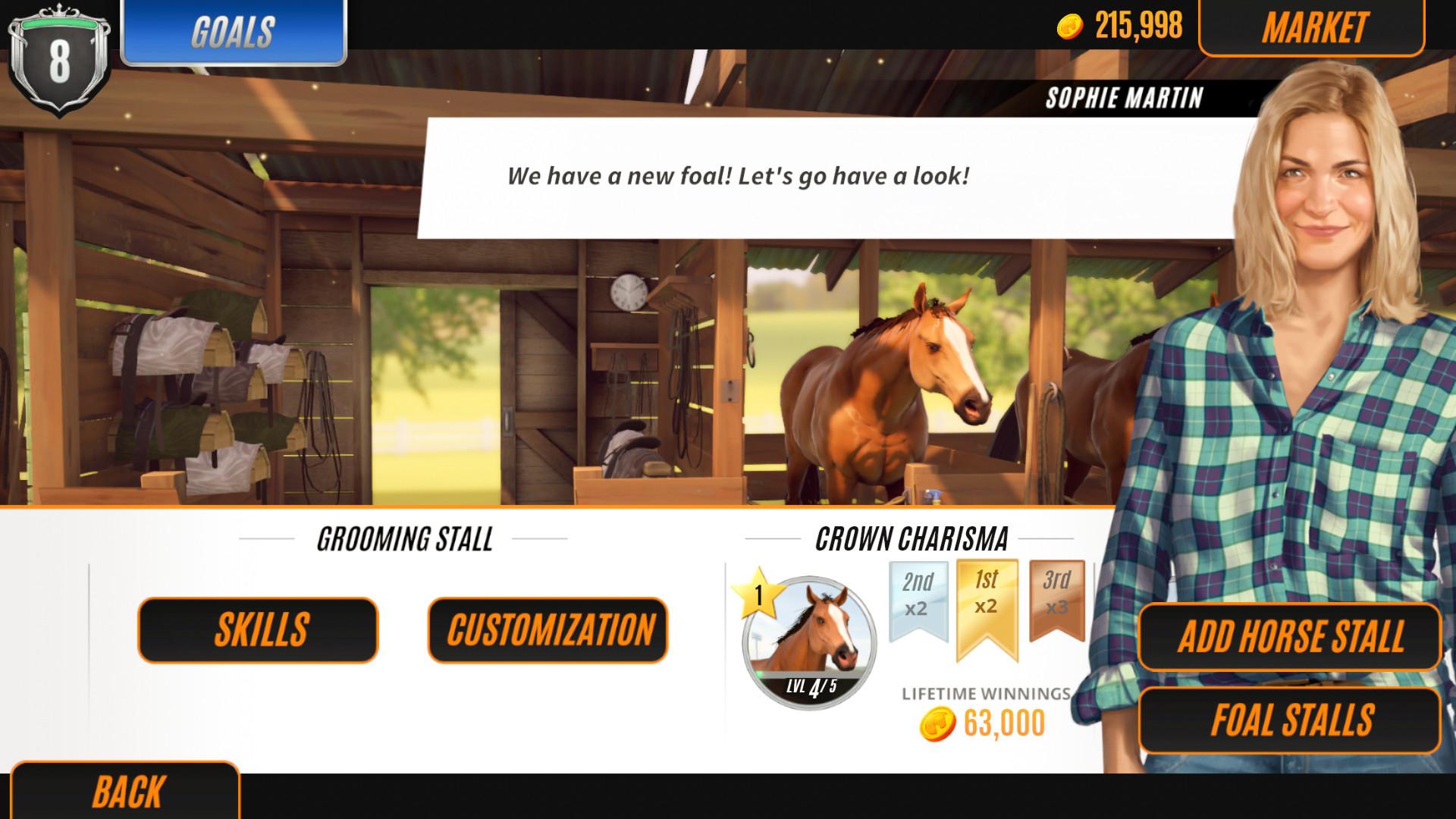 家族传奇马匹养成竞技破解版