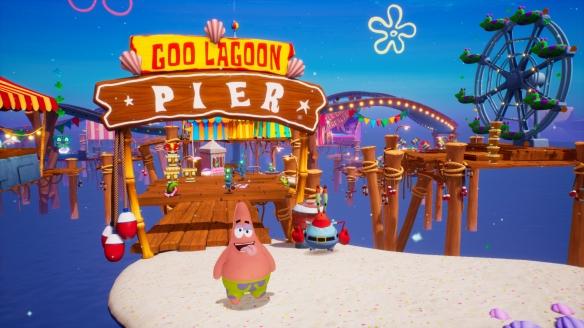 《海绵宝宝:争霸比基尼海滩》游戏截图-2
