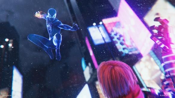 《蜘蛛侠:迈尔斯莫拉莱斯》游戏截图
