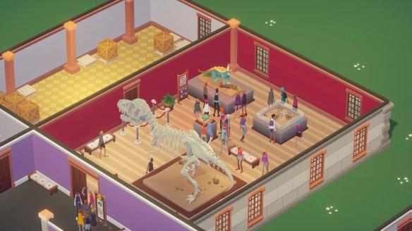《博物馆模拟器》游戏截图