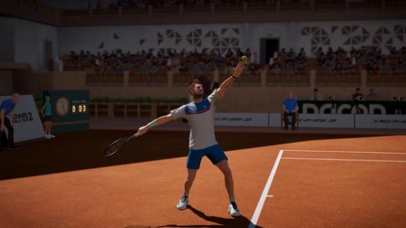 《网球世界巡回赛2》游戏截图2