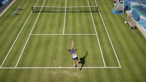 《网球世界巡回赛2》游戏截图1