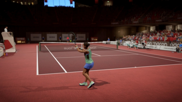 《网球世界巡回赛2》游戏截图3