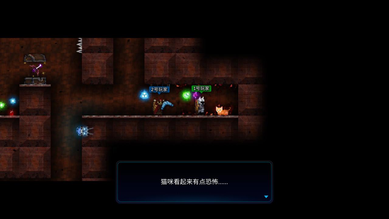 烛火地牢2:猫咪的诅咒/单机.同屏多人 v0.2.0插图1