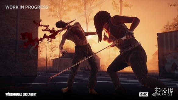 《行尸走肉:猛攻》游戏截图-4