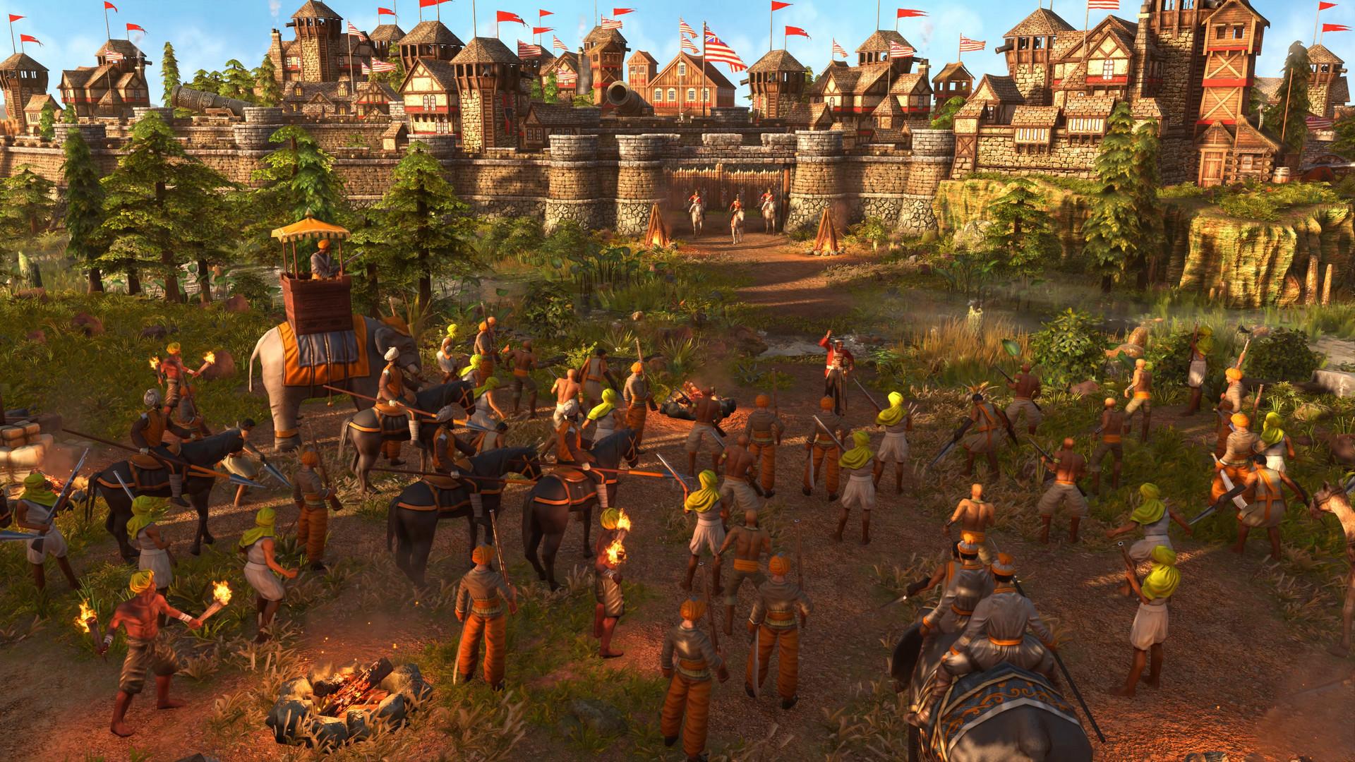 帝国时代3:决定版 免安装中文版