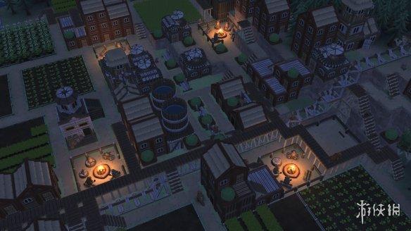 朋克风海狸建造模拟游戏《木架Timberborn》专题上线