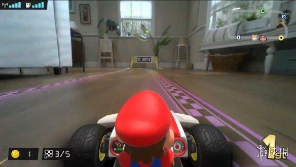 《马里奥赛车 Live:家庭巡回赛》游戏截图-3