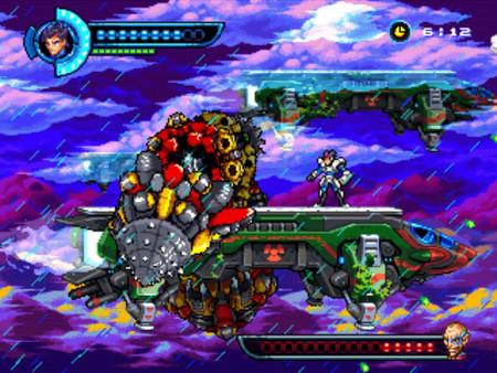 复古街机风格横版动作冒险游戏《钢铁突击》专题上线