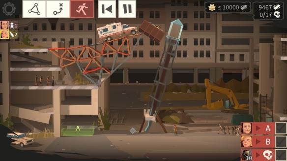 《桥梁建筑师:行尸走肉》游戏截图-2