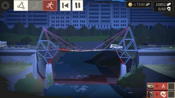 《桥梁建筑师:行尸走肉》游戏截图-1
