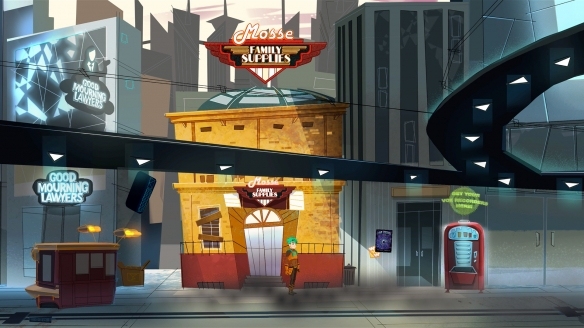 2D科幻冒险解谜游戏《亨利莫斯与虫洞阴谋》专题上线