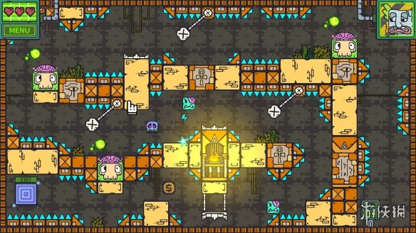 2D休闲动作冒险游戏《僵尸地牢》专题上线