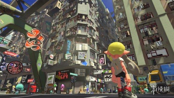 任天堂最新力作 美少女射击游戏《喷射战士3》专题上线