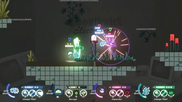 2D平台大乱斗动作游戏《充能冠军》专题上线