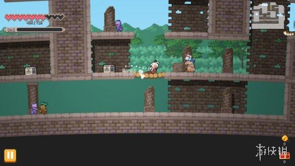 类恶魔城角色扮演动作游戏《流浪探险家》专题上线