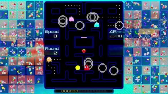 任天堂会员独占多人混战游戏《吃豆人99》专题站上线
