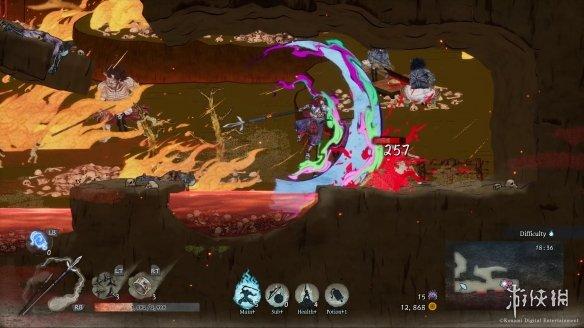 《月风魔传:不死之月》游戏截图-9