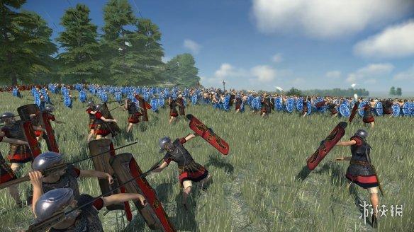 《罗马:全面战争重制版》官方中文Steam正版分流发布