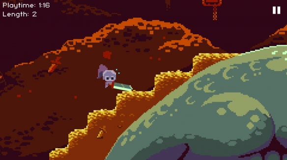 《最深之剑》游戏截图1