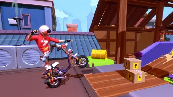 《城市特技摩托》游戏截图-4