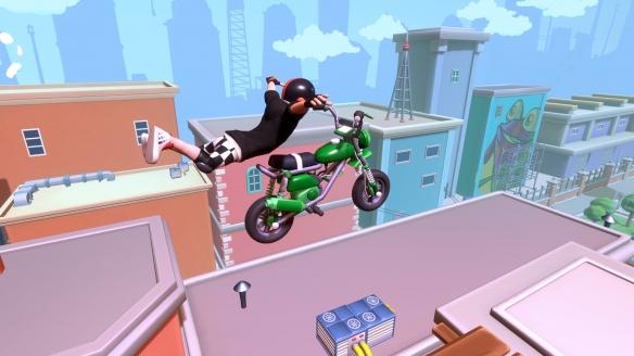 《城市特技摩托》游戏截图-3