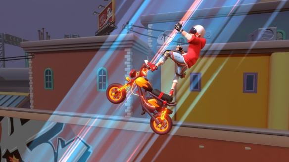 《城市特技摩托》游戏截图-5