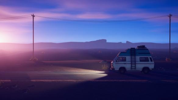 公路旅行题材第三人称冒险游戏《Forever Ago》游侠专题站上线